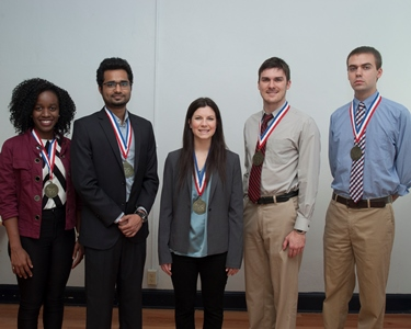 Louisiana Tech to graduate five Grand Challenge Scholars
