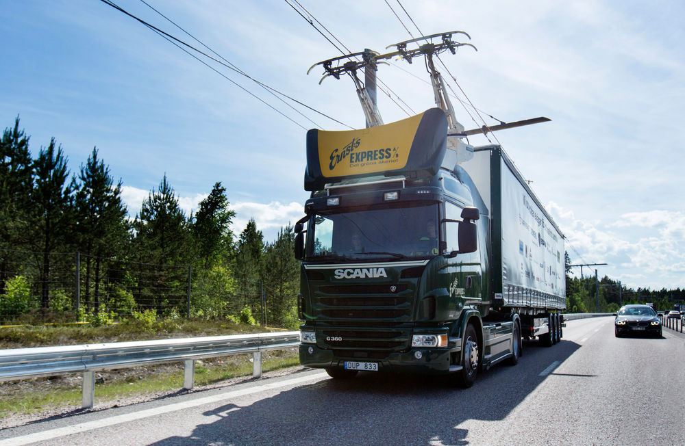 A Tiny Highway In Sweden Is Now Electrified