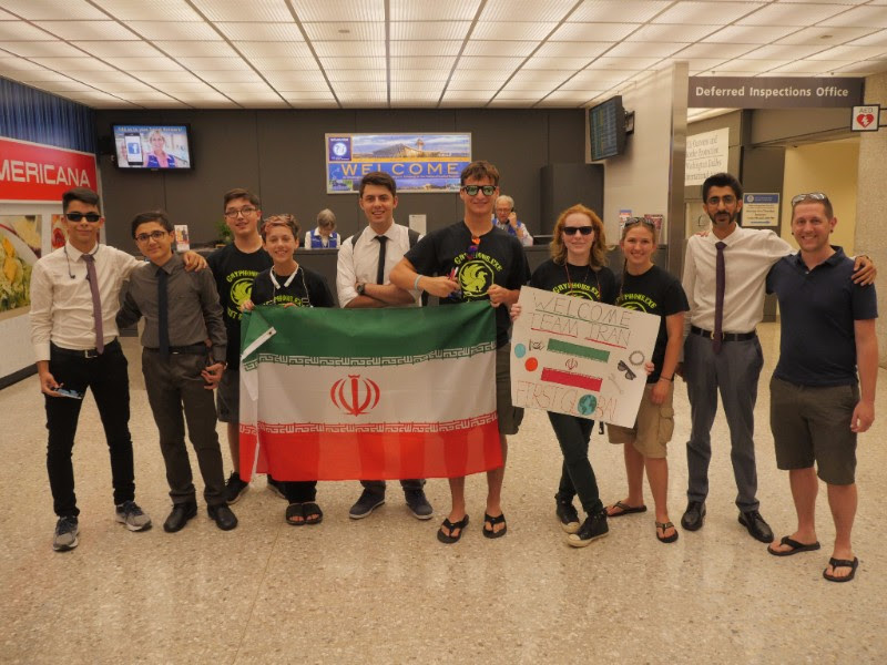 Iranian students first to arrive in Washington, D.C. for FIRST Global