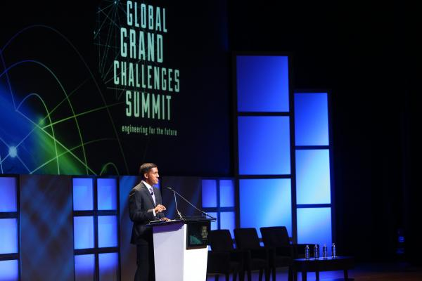 Four CU Boulder Students Travel to 2017 Global Grand Challenges Summit