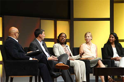 "Education Panel: ""The Global STEM Challenges Program at Edison High School,"" featuring: §  Scott Settar, Program Manager of Technology and Engineering Education and STEAM Integration at Fairfax County Public Schools in Virginia, USA §  Pamela Brumfield, Principal of Thomas A. Edison High School in Alexandria, Virginia §  Katherine Shirey, Senior Fellow at the Knowles Science Teaching Foundation §  Francis Reyes, Global STEM Challenges Student at Edison High School in Alexandria, Virginia"